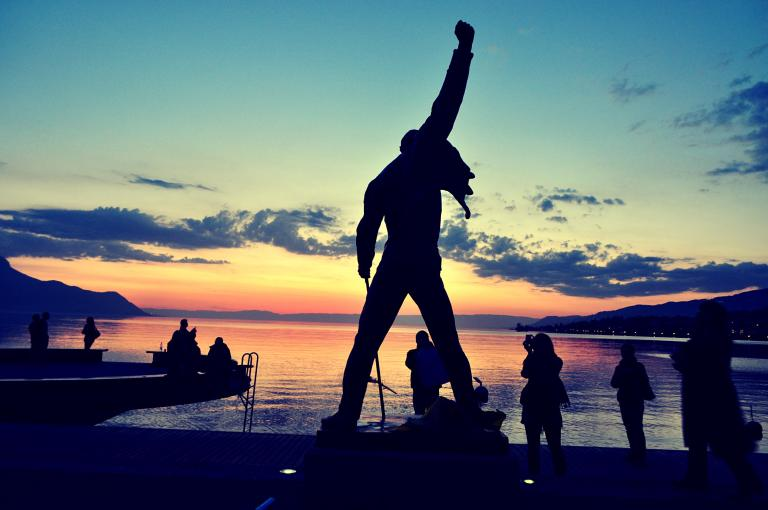 Montreux Sunset