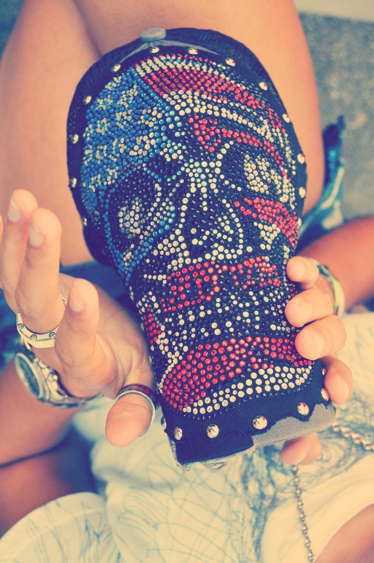 Skull on a Hat
