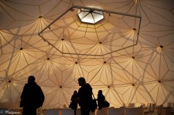 Dome after Richard Buckminster Fuller made in 1975/2000