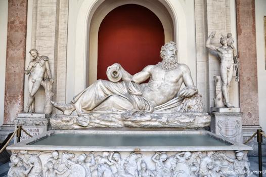 Statue in Vatican Museum